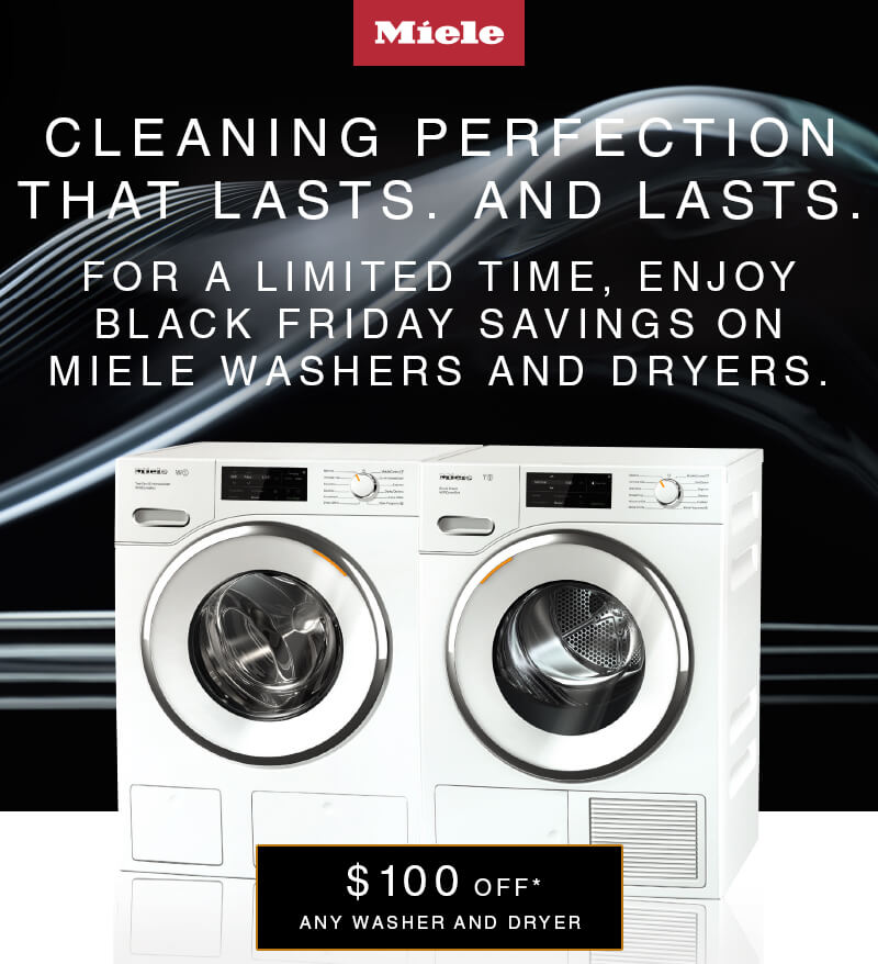 Miele $100 Laundry Rebate
